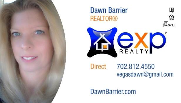 Dawn Barrier EXP Realty Las Vegas Card